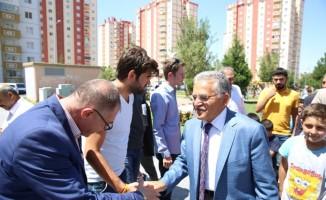 Başkan Büyükkılıç, Tınaztepe de Belediye Yatırımlarını Denetledi