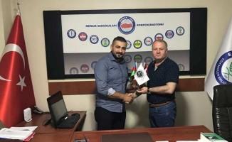 Başkan Gülbey, Başkan Çiğdem'i ziyaret etti