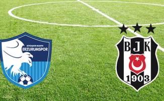 BB Erzurumspor 1 - Beşiktaş 0 | CANLI