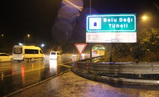 Bolu Dağı'nda tatilcilere yağış sürprizi