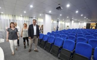 Bucalılar 120 kişilik konferans salonuna kavuştu