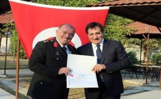 Bursa Jandarma Komutanı Ahmet Hacıoğlu Erzurum'a uğurlandı