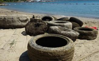 Burunucu'nda deniz dibi temizliği