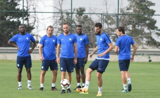 Büyükşehir Belediye Erzurumspor, Beşiktaş maçı hazırlıklarını tamamladı