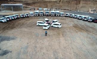 Cizre Belediyesi araç filosunu yeniledi