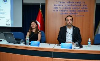 DTO'da Mesleki Yeterlilik Belgesi zorunluluğu toplantısı yapıldı