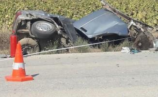 Edirne'de feci kaza: 2 ölü, 2 yaralı