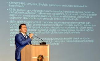 Emniyet Müdürlüğü personeline 'KBRN' eğitimi verildi
