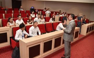 Gagavuz öğrencilerden Altındağ çıkarması