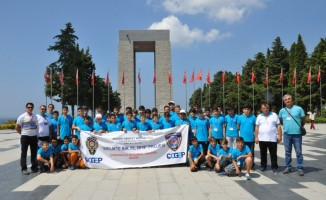 'Gelecek Benim' projesi ile Çanakkale'yi gezdiler