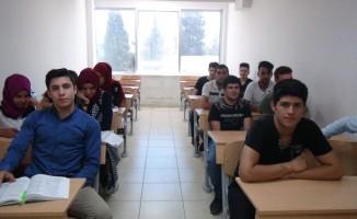 Halk eğitim kursları öğrencilere kolaylık sağlıyor