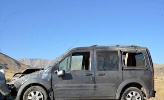 Kazada aynı aileden 6'sı çocuk 8 kişi yaralandı