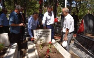 Kırıkkale'de protokol, şehitleri unutmadı