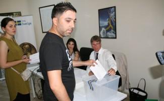 Kulu'da İsveç seçimleri için oy kullanma işlemi başladı