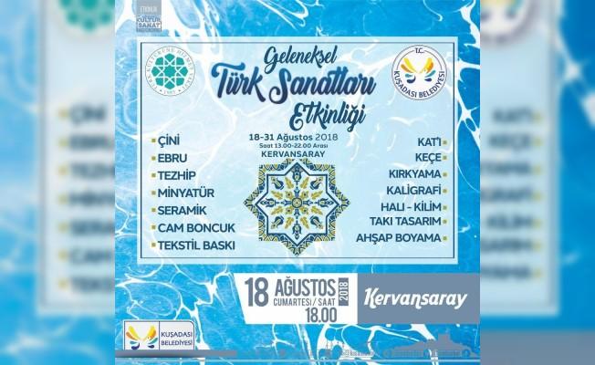 Kuşadası'nda Türk el sanatları etkinliği düzenlenecek
