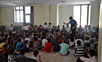 Polis bayram öncesi çocukları uyardı