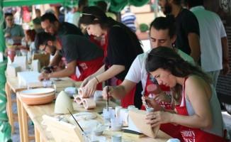 Seramik sanatçıları Odunpazarı'na hayran kaldı