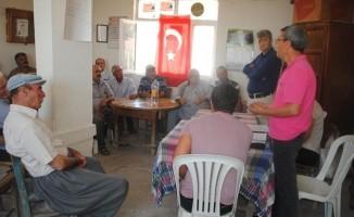 Silifke'de organik tarım yapan çiftçiler bilgilendirildi