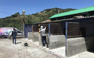 Sokak Hayvanları Rehabilitasyon ve Bakım Merkezi yenileniyor