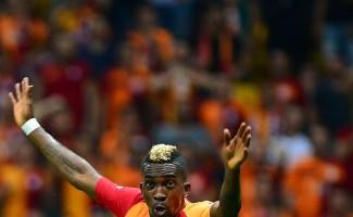 Spor Toto Süper Lig: Galatasaray: 1 - Göztepe: 0 (İlk yarı)