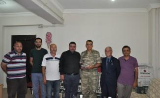 Tugay Komutanı Tuğgeneral Turan İnan Kars basınıyla vedalaştı