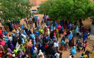 Türkiye'den Nijerli yetimlere bayram hediyesi