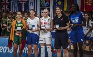 U18 Genç Kızlar Avrupa Basketbol Şampiyonası B Ligi sona erdi