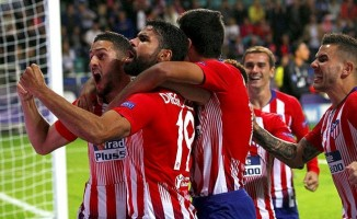 UEFA Süper Kupa Atletico Madrid'in
