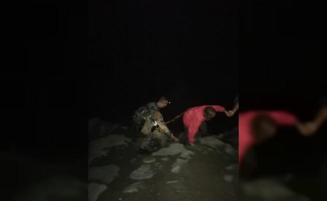 Yaylada kaybolan turistleri JAK yardımıyla bulundu