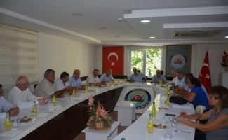Ziraat Odası Başkanları Korkuteli'nde toplandı