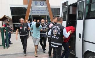 2 milyon TL'lik elektronik eşya çalan 'Balyoz Çetesi'nden 5 kişi tutuklandı