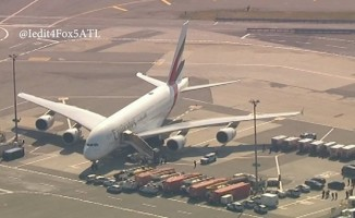 ABD'de büyük panik: Uçak karantinaya alındı!