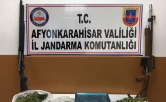 Afyonkarahisar'da uyuşturucu madde operasyonu