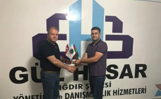 Asimder Başkanı Gülbey işadamı Güven'i ziyaret etti