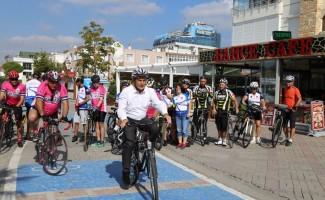 Avrupa Hareketlilik Haftası'nda bisiklet turu