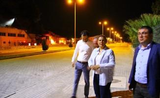 Aydın'daki fabrika yangını uzun uğraşlar sonucu kontrol altına alındı