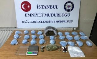 Bağcılar'da büfeye uyuşturucu operasyonu