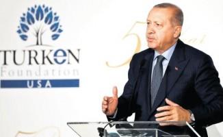 Başkan Erdoğan ABD'de net konuştu : Tümü yasaklansın