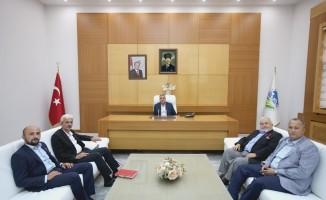 """Başkan Toçoğlu: """"Şehit ailelerimizin ve gazilerimizin yanındayız"""""""