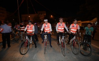 Başkan Türel Burdur'da farkındalık için pedal çevirdi