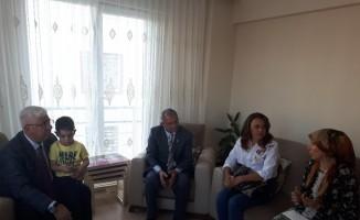 Başkan Yüksel'den tren kazasında ölen Ersen Gül'ün ailesine taziye ziyareti