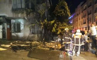 Başkent'te ev yangını