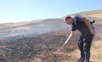 Bingöl'deki toprak yanması incelendi