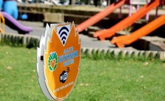 Büyükşehir Belediyesinden ücretsiz internet hizmeti