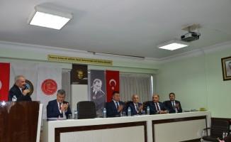 CHP Heyetinden MESOB'a ziyaret