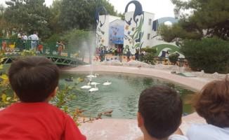 Çocuk evlerinde kalan çocuklar Gaziantep'i gezdi
