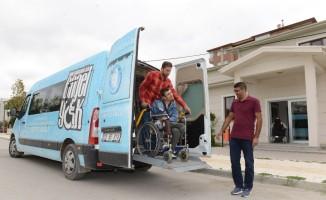 Çorum Belediyesi'nden engellilere destek