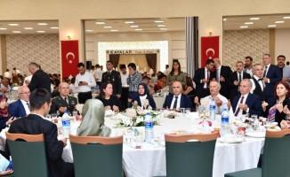 Denizli'de Gaziler onuruna yemek