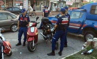 Edremit'te Jandarma trafik denetimlerini arttırdı