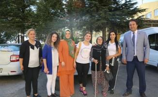 Engelsiz Yaşam Merkezi çalışanlarından huzurevine ziyaret